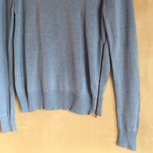 Ann Taylor Sweaters - Ann Taylor Knit Baby Blue Crew Neck Sweater